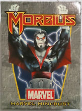 Marvel Comics Bowen Spider-Man Morbius mini bust/statue with box