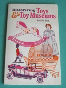 DISCOVERING TOYS & TOY MUSEUMS BOOK. 72 x PAGES of CLASSIC TOYS etc. ISSUED 1977