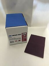 """Norton Bear-Tex 6"""" X 9"""" Maroon Scuff and Clean Pads 20ct 58000 FREE PRIORITY"""