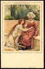 Vintage Faulkner PPC c1907 - Shakespeare Series No.13F - Juliet & the Nurse