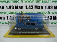 TX10F Voiture 1/43 LEO model TAXIS DU MONDE : MERCEDES 200D - Athens 1965(Grèce)