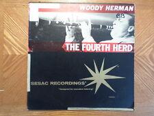 SESAC DG LP RECORD MONO/WOODY HERMAN/ THE FOURTH HERD/ VG VINYL JAZZ