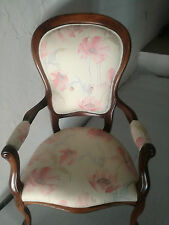 ** Poltrona trono Luigi Filippo  faggio massello  102 cm ( h) ** poltrone sedia