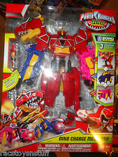POWER RANGERS DINO CHARGE MEGAZORD, 3 ZORDS COMBINE,  SEALED, NEVER OPENED
