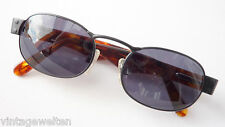 Momo Design Oval Unisex Sunglasses Anti-glare Underwired Horn-Look SIZE M