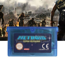 GBA Video Game Cartridge Console Game Card GBE-002 for Metroid Zero Mission New