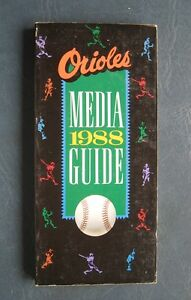Baltimore Orioles--1988 Media Guide