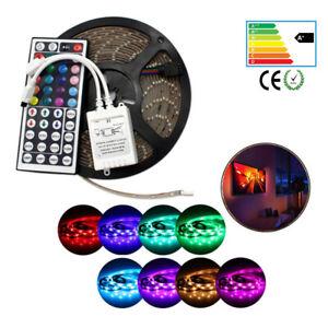 LED Light Waterproof 5M 16.4ft Strip 5050 3528 RGB White Flexable 300LEDs Kit