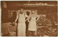 BAKERS GERMAN ARMY WW1 KITCHEN MILITARY HISTORY ANTIQUE RPPC PHOTO POSTCARD
