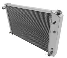 Champion Racing 3 Row Aluminum Radiator For 1973 - 91 Chevy/GMC Trucks