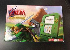 Nintendo Green 2DS System Zelda Ocarina Of Time  Link Edition Bundle IN HAND!!!