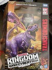 Transformers: War for Cybertron - Kingdom Leader Megatron (Beast) Action Figure