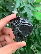 Black Obsidian Rough Stones, Grade A + Raw Black Obsidian, Wholesale Bulk Lot