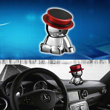 1pc 360° Rotation Magnetic Red Hat Dashboard Smart Cell Phone Mount Stand Holder