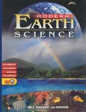 Modern Earth Science: Student Edition 2002, HOLT, RINEHART AND WINSTON hard book