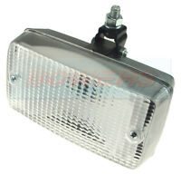 REAR RECTANGULAR CLEAR REVERSE LAMP LIGHT CAR WESEM SVA ECE E-APPROVED
