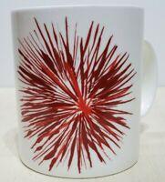 Starbucks 2014 Fireworks Red Starburst Coffee  Mug 12 fl oz