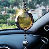 Car Air Freshener Perfume Bottle Diffuser Rearview Mirror Hanging Ornament DIY