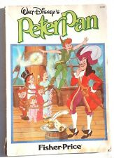 Vintage 1952 (Fisher Price) Walt DISNEY's PETER PAN Comic BOOK 3116T