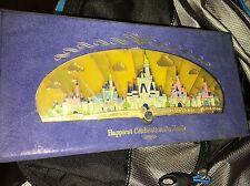 Disney Happiest Celebration On Earth Disney Castles Super Jumbo Pin LE 1500 NEW!