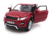 Range Rover Model Car With Desired License Plate Evoque SUV Red Scale 1:3 4-39