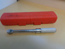 """NM Snap On Torque Wrench with Case-QC2R200-3/8"""" Drive"""