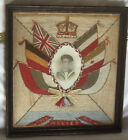WW1 Beautifully Worked Small Sailors Embroidery With Photo