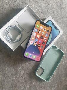 Apple iPhone 12 MINI 128GB 5G BLUE UNLOCKED (NEW )  1 YEAR APPLE WARRANTY
