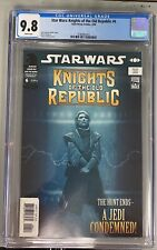 STAR WARS KNIGHTS OF THE OLD REPUBLIC #6 CGC 9.8 1st CAMEO OF ROHLAN DYRE MANDO