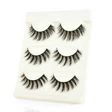 Handmade 100% Real Mink Natural Thick Soft Lashes False Eyelashes Luxurious
