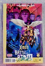 X-MEN BATTLE Of The ATOM #1(Signature Grade) 9.8, MW Com. Grading, Marvel, 2013