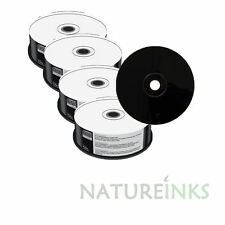 200 Mediarange Black Bottom blank CD-R discs White HUB Printable 52x 700MB MR241