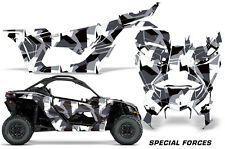 AMR Racing Can Am Maverick X3 Full Graphic Kit Wrap Sticker Parts 2016 + FORCES