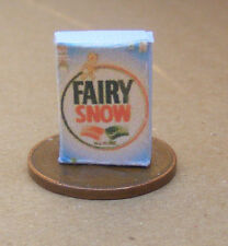 1:12 Scale Fairy Soap Washing Powder Packet Dolls House Kitchen Accessory Ad