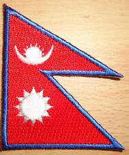 NEPAL Country Flag Embroidered PATCH