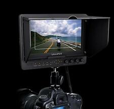 "Lilliput 665/O/P 7"" Full HD Field Monitor HDMI In Out Advanced Functions fr DSLR"
