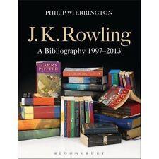 J.K. Rowling: A Bibliography, Philip W. Errington, Very Good Book