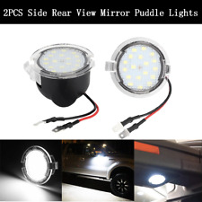 Xenon White LED Puddle Lights For Ford Taurus Edge Flex F150 Side Mirror Lights
