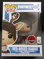 Funko Pop! Fortnite Red-Nosed Raider #437 EBGames/GameStop Exclusive *READ*