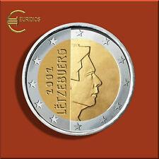 2 Euro € Kursmünze Luxemburg 2002 ,  bankfrisch