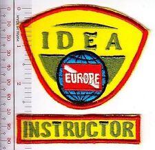 SCUBA Diving USA International Diving Educators Association IDEA Badge Instructo