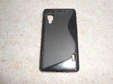 LG Optimus L5 II E460 schwarze S Hülle Case Cover Silikon