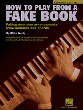 """""""HOW TO PLAY FROM A FAKE BOOK"""" KEYBOARD EDITION-MUSIC BOOK-BRAND NEW ON SALE!!"""