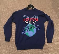 Super Rare Vintage 1970s The Who Original Hand Knit Sallys Own Sweater Jumper