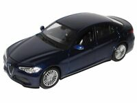 ALFA ROMEO GIULIA 1:24 scale diecast model car die cast toy miniature blue