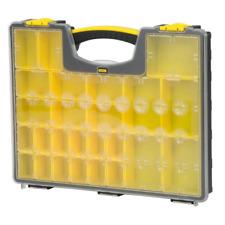 STANLEY Small Parts Organizer Portable Tool Box 25 Compartment Bin Storage Chest