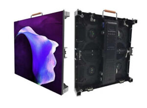3.91 Outdoor RGB LED Wall Panel / Rental Event Stage LED Advertising Screen