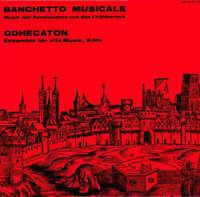 Odhecaton Banchetto Musicale LP Album Vinyl Schallplatte 147922