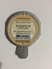 1 Scentportables Pumpkin Cupcake Disc Air Freshener Car Buttercream Spice BBW