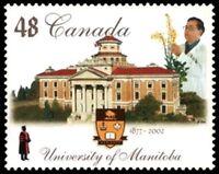Canada    # 1941  VF-NH UNIVERSITY of MANITOBA   New Issue 2002 Original Gum